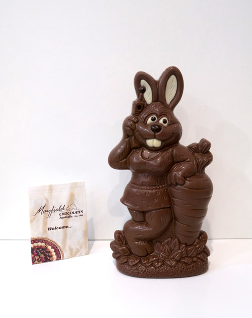 """Beach Bunny"" Easter rabbit - milk chocolate"