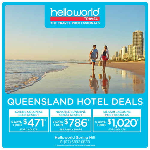 Hello Queensland Hotels