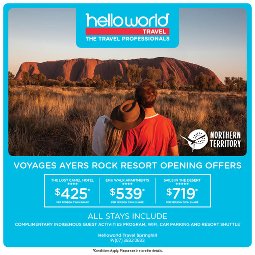 Hello Ayers Rock Uluru