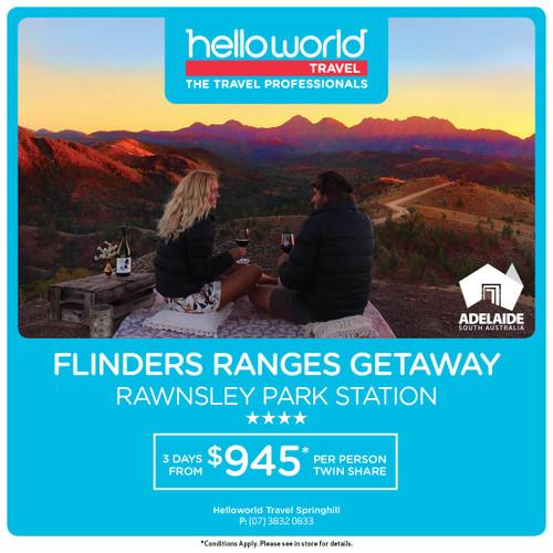 Hello Flinders Ranges