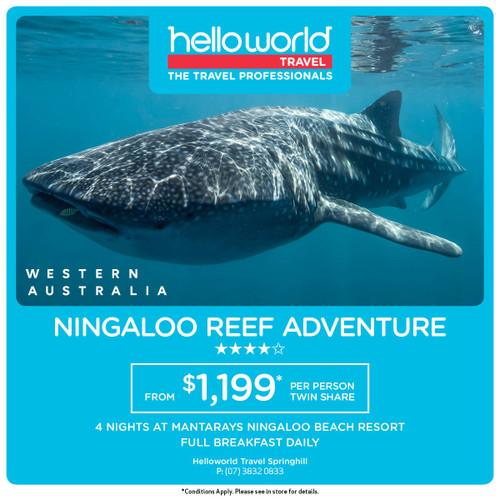 Hello Ningaloo Reef