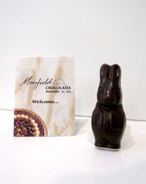 Easter Bunny - dark chocolate - vegan