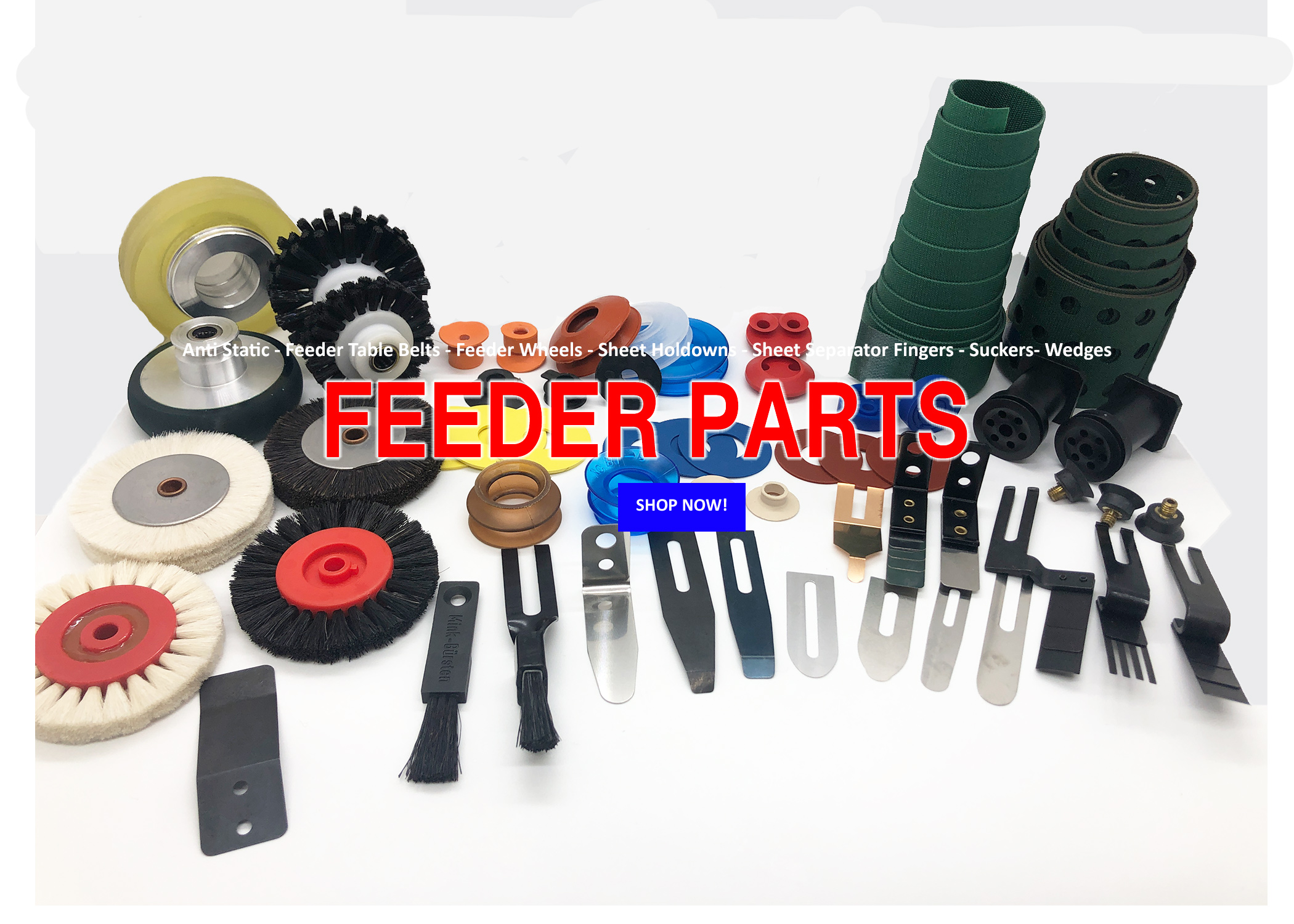 Feeder Parts - National Offset Warehouse