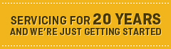 Servicing for 20 years - National Offset Warehouse