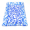 Hebrew Alphabet Rectangular Glass Serving Tray For the Home