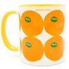 Jaffa Oranges of Israel Coffee Mug | Barbara Shaw Jewish gifts