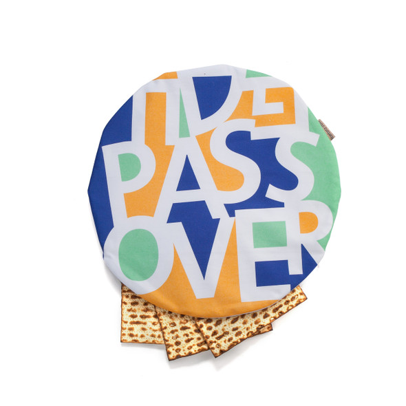 Barbara Shaw Sand, Sea and Sycamore Matzah Cover for Passover