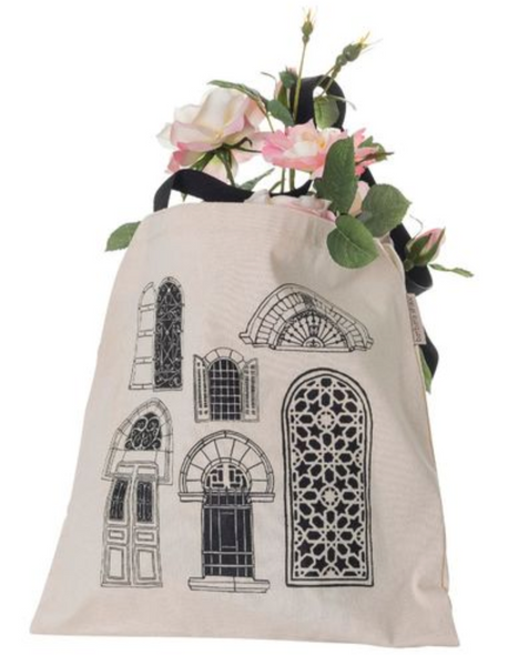 Tote Bag- Jerusalem Windows