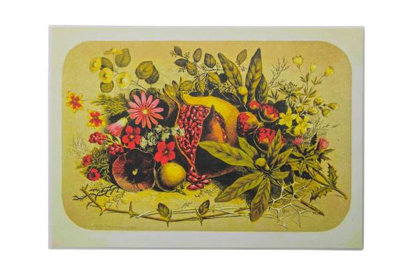 Vintage Pomegranate Placemat set of 2