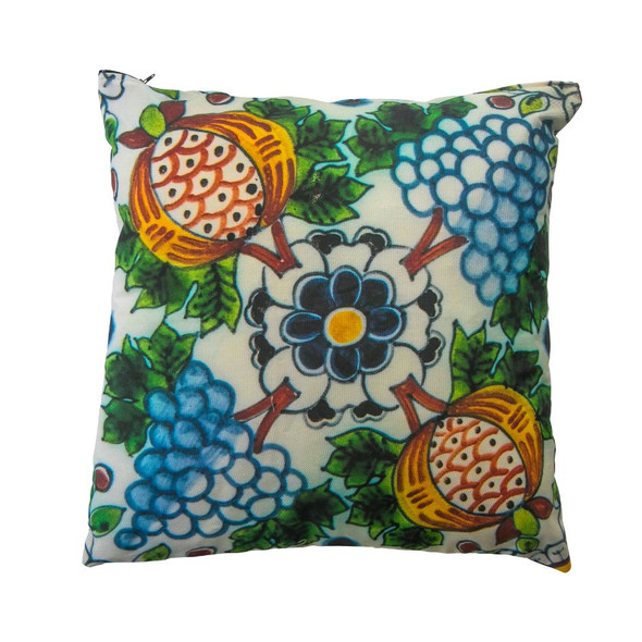 Delft Pomegranate Pattern unique Cushion for the home