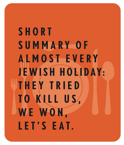 Funny and beautiful Jewish Holidays sign