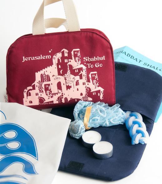 Shabbat-To-Go Sabbath Holiday/Travel Kit