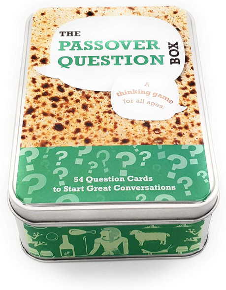 BARBARA SHAW GIFTS one of a kind unique Passover Question Box for Seder table and Passover holiday's