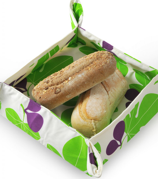 Fig Leaf  design Bread Basket