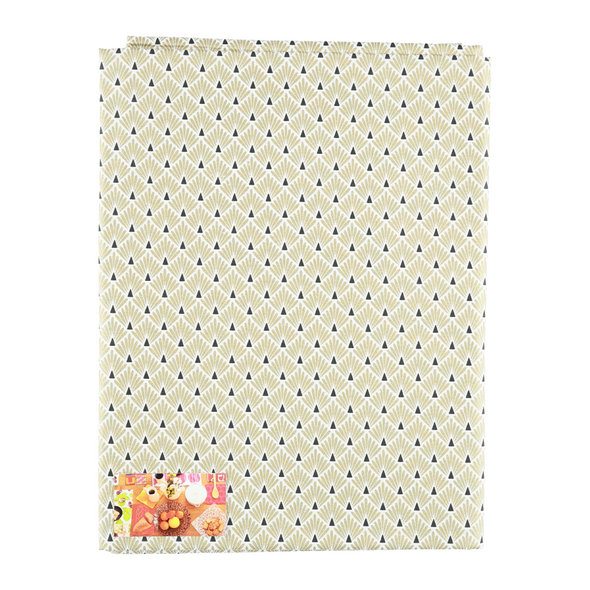 Golden Days Easy Wipe modern Table cloth