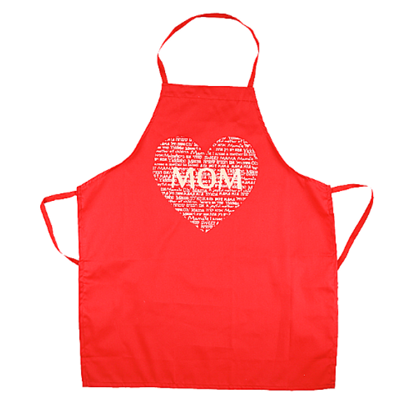 MOM is love Jewish Apron | Barbara Shaw Gifts