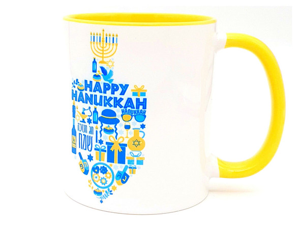 Hanukkah gifts dreidel Coffee Mug