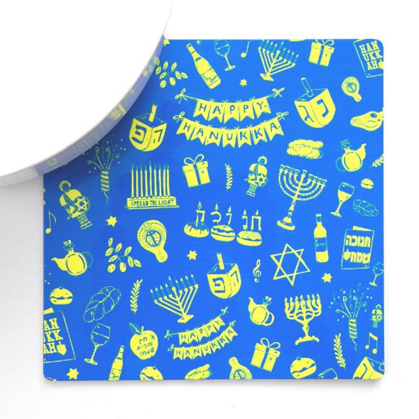 Hanukkah Icons Trivet