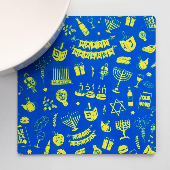 Hanukkah decoration fun pack/gift box of three