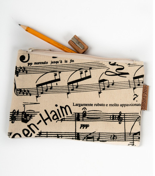 Music Notes and Famous Composers Purse