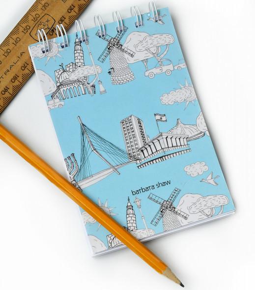 Jerusalem Wire Bound Notebook