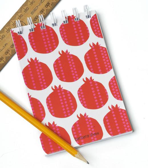Pomegranate Wire Bound Notebook