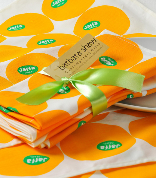 Jaffa Oranges Napkins and Placemats