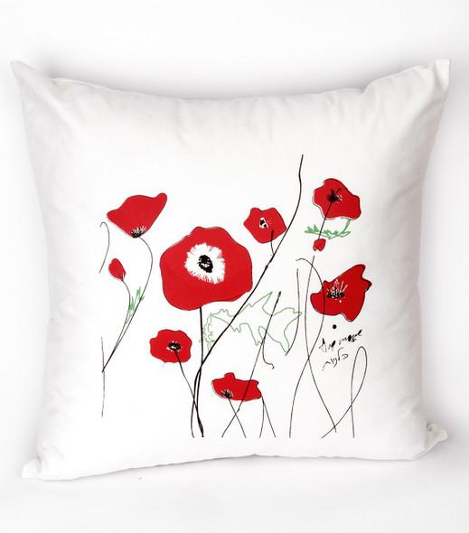 Kalaniot (Wild Anemones) Cushion