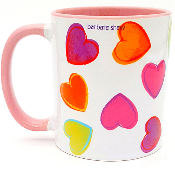 Super Sister in Hebrew coffee mug | Barbara Shaw Gifts