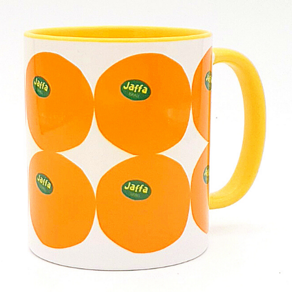 Jaffa Oranges of Israel Coffee Mug | Barbara Shaw Jewish gifts