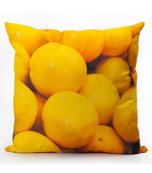 Lemons Photo Cushion