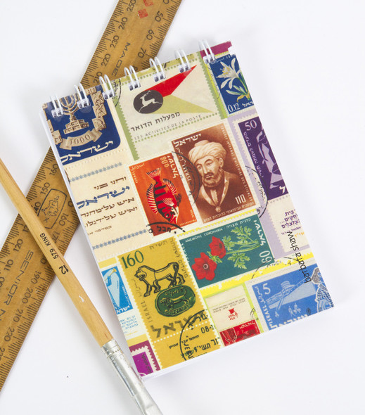 Israeli Stamps Wire Notebook