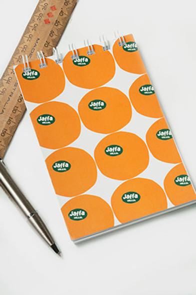 Jaffa Oranges Notepad and Notebook