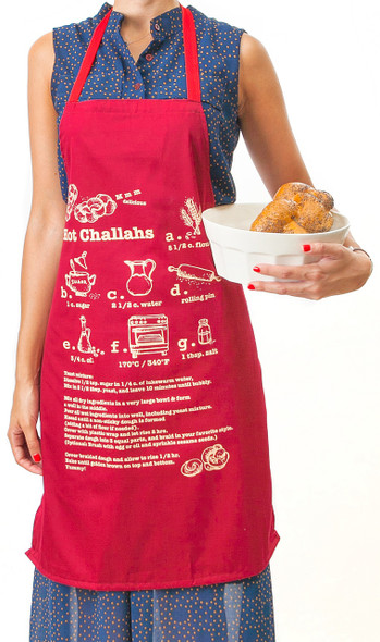 Apron - Hot Challahs Recipe