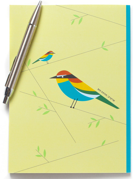 Bee-Eater Bird Lined Notebook