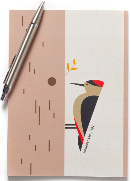 Notebook - Woodpecker Bird