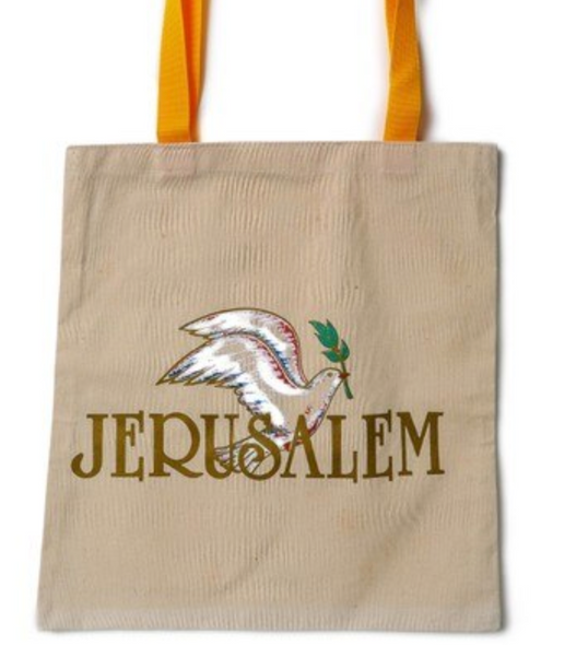 Tote Bag - Jerusalem Dove