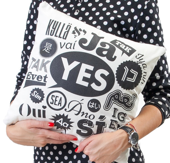 Say Yes! Cushion for the home
