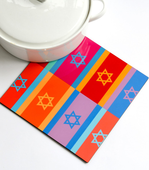 Trivet - Colorful Flags