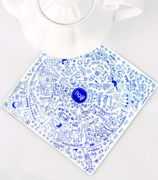 Barbara Shaw Beautiful modern Haggadah hot pot Passover square trivet