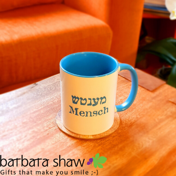 "The Original ""Mensch"" /Great Guy Coffee Mug"