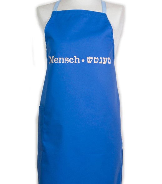 "Apron -""Mensch""- Great guy cooking apron"