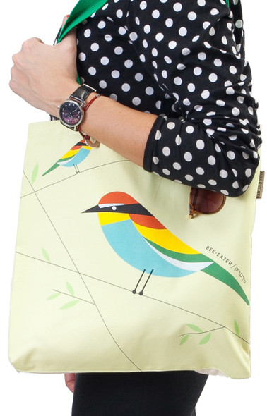 Canvas Tote Bag - 'Flights of Fancy' Bee-Eater Bird