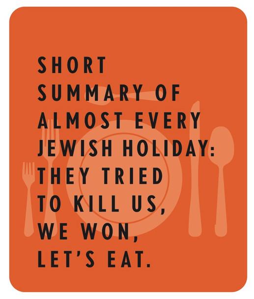 Funny and Beautiful Jewish Holidays Sign