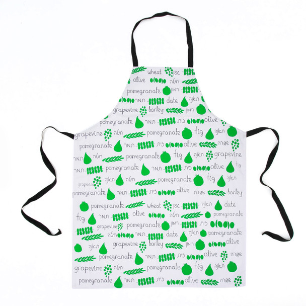 Fruits of the land of Israel Apron