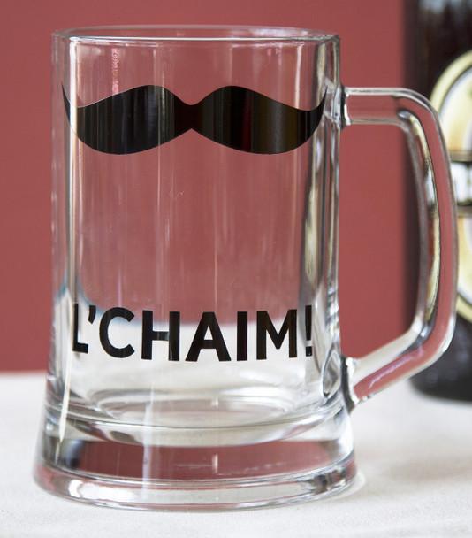 L'chaim! Pint Beer Glass  - English
