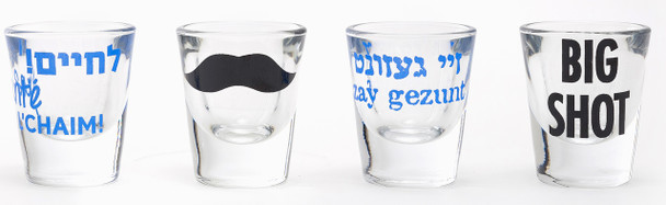 Shot Glasses Set of 4