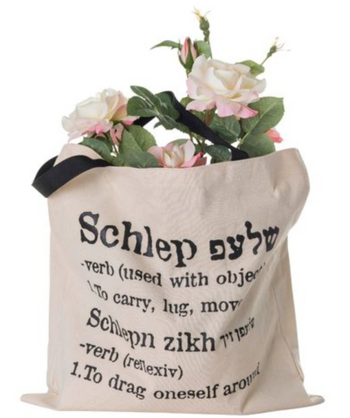 The ORIGINAL Schlep ( carry) Tote Bag Designed and created by barbara Shaw Gifts