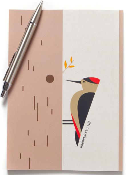 Notebook - Woodpecker Bird