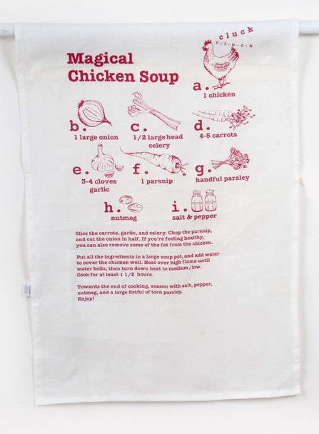 Chicken Soup Dish Towel